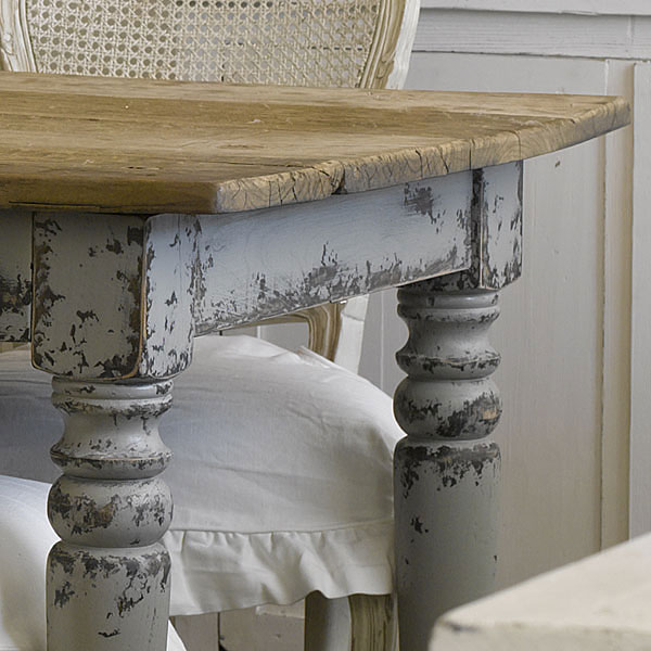 shabby-chic-kitchen-table