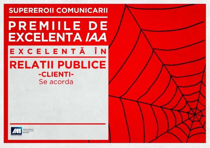 spiderman- Excelenta in Relatii Publice