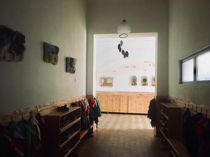 În hol, lagrădiniță