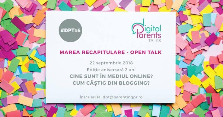 Despre poveștile vii pe care le trăiești cu toate simțurile, la Digital Parents Talks, ediția a16-a