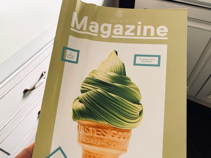 Înainte să arunci o revistăveche